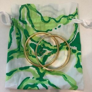 Lilly Pulitzer Rope Bangle Set